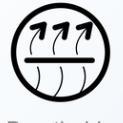 Symbol für Atmungsaktiv